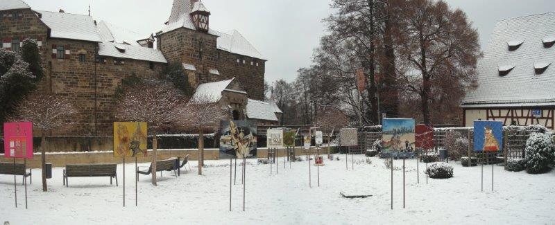 """""""KarLauf"""" – Kunst im Park vor der Laufer Kaiserburg"""